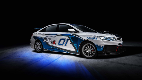 Full HD Geely Emgrand Gl Race Car 2018 Wallpaper