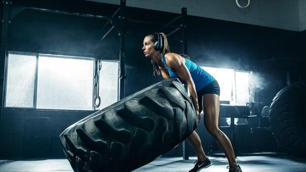 fitness girl wallpaper