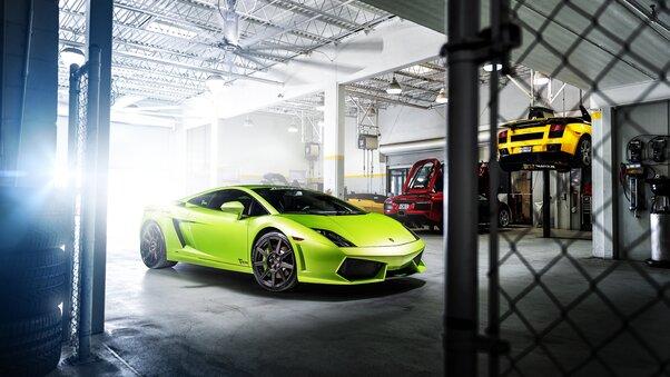 Full HD Lamborghini Gallardo 8k Wallpaper