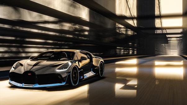 Full HD Black And Red Bugatti Divo Wallpaper