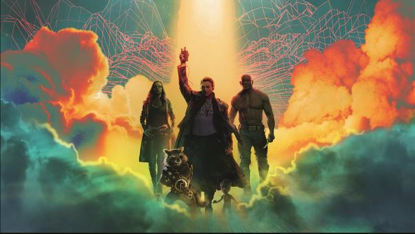 guardians of the galaxy 4k art ei