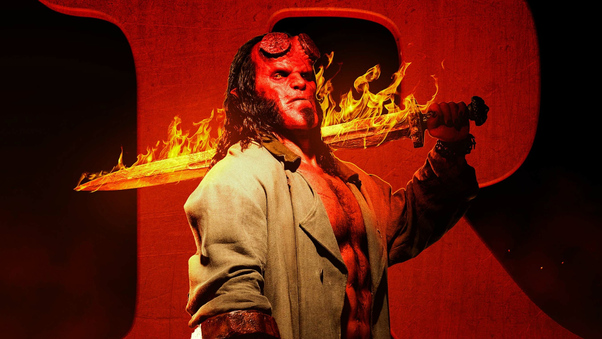 Movie Poster 2019: Hellboy 2019 R Rated, HD Movies, 4k Wallpapers, Images