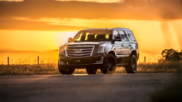 Full HD Hennessey Escalade Hpe800 Supercharged Wallpaper