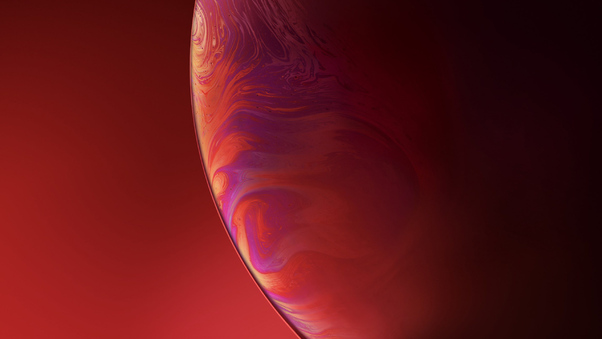 Iphone Xr Double Bubble Red Hd Computer 4k Wallpapers