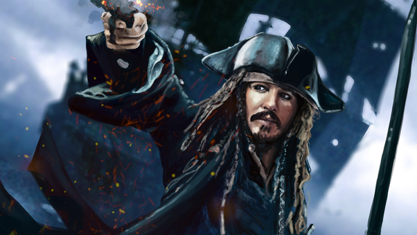 Jack Sparrow 5k Artwork Hd Artist 4k Wallpapers Images Backgrounds Photos And Pictures