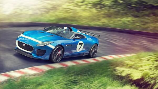 Full HD Jaguar F Type Sport Wallpaper