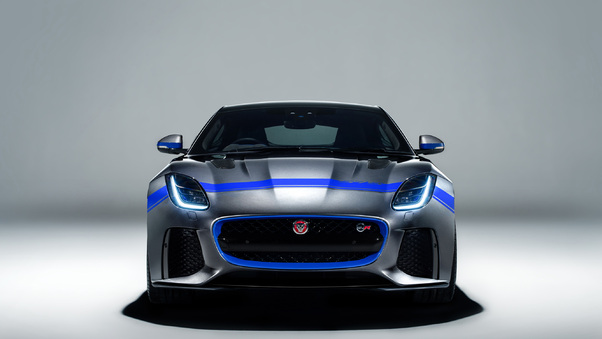 Full HD 2018 Jaguar F Type Svr Wallpaper