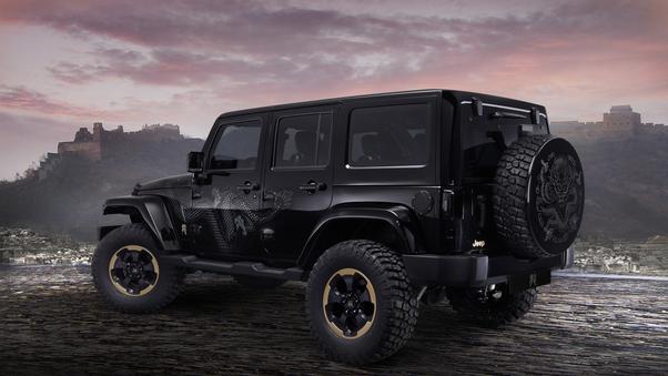Full HD 8k Jeep Wrangler Wallpaper