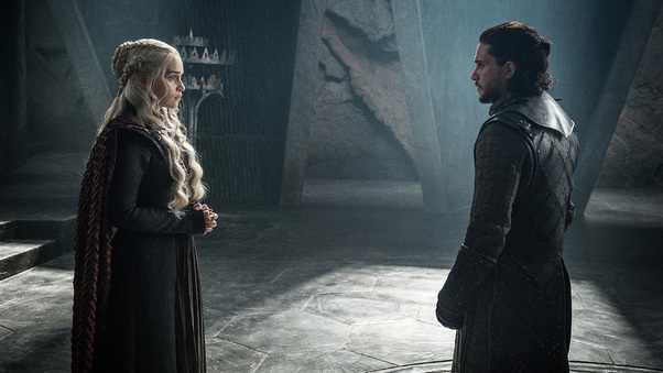 Jon Snow And Daenerys Targaryen Hd Tv Shows 4k Wallpapers