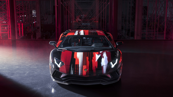 Full HD Mansory Lamborghini Aventador S 2018 4k Wallpaper