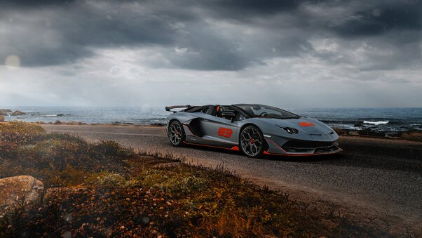 Full HD Lamborghini Aventador 2020 Wallpaper