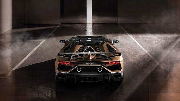 Full HD Lamborghini Aventador Svj 2018 4k Wallpaper