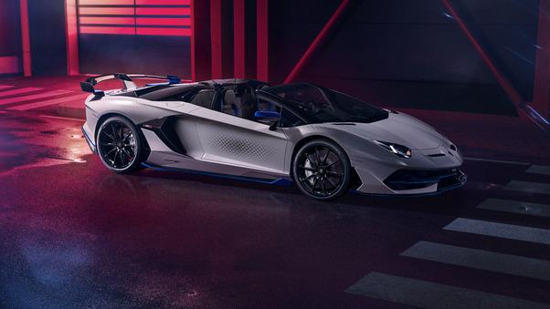 Full HD Lamborghini Aventador Svj Roadster Xago Edition Wallpaper