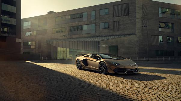 Full HD Lamborghini Aventador In Ice 5k Wallpaper