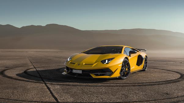 Full HD Lamborghini Aventador Svj Wallpaper