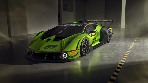Full HD Lamborghini Essenza Scv12 2020 8k Wallpaper