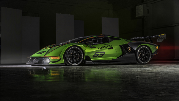 Full HD Lamborghini Essenza Scv12 Wallpaper