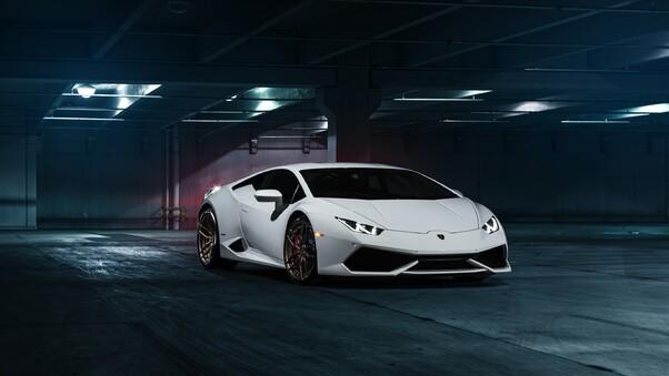 Full HD Lamborghini Huracan Lp 580 2 Wallpaper