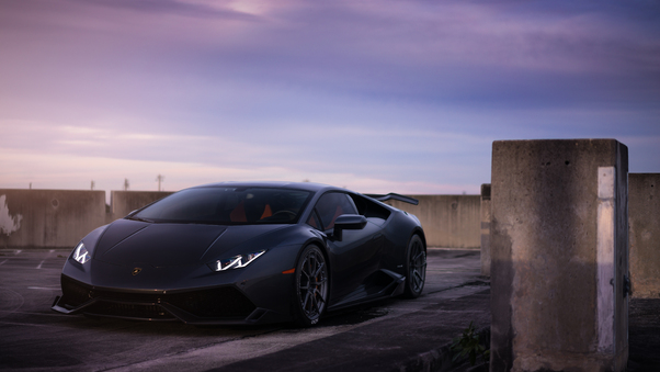Full HD Lamborghini Veneno Darth Vader Wallpaper