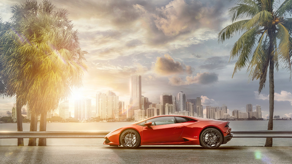 Full HD 2019 Lamborghini Huracan 4k Wallpaper