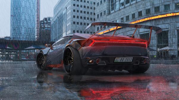 Full HD 2018 Novitec Torado Lamborghini Huracan Rwd Wallpaper