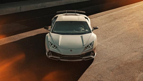 Full HD Novitec Torado Lamborghini Huracan Rwd 2018 Front View Wallpaper