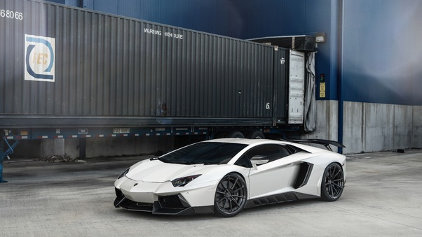 Full HD Lamborghini Aventador 5k Wallpaper