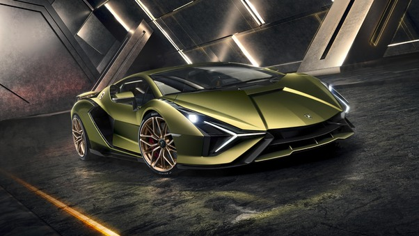 Full HD 2020 Lamborghini Sian Roadster Wallpaper