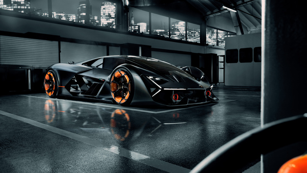 Full HD Lamborghini Terzo Millennio 4k 2019 Wallpaper