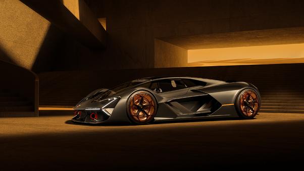 Full HD Lamborghini Terzo Millennio 2019 4k Wallpaper