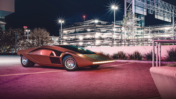 Full HD Lancia Stratos Zero Wallpaper