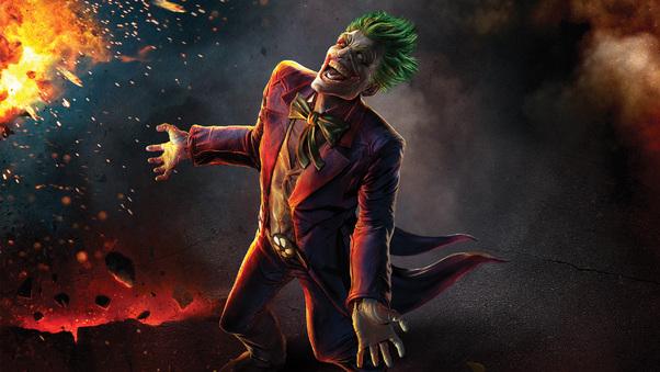 Laughing Joker Artwork Hd Superheroes 4k Wallpapers