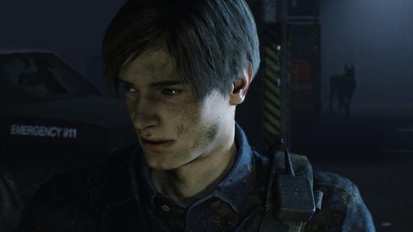 Leon Kennedy Resident Evil 2 2019 4k, HD Games, 4k ...
