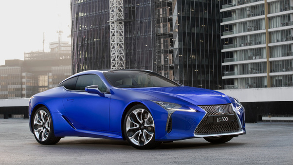 Full HD Lexus Lc 500 Limited Edition 2018 Front Wallpaper