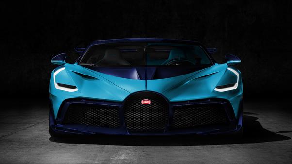 Full HD Bugatti Divo 2018 Paris France Wallpaper