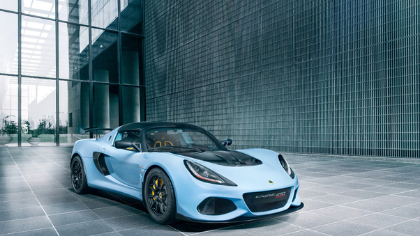 Full HD Lotus Exige Cup 430 2018 Front Wallpaper