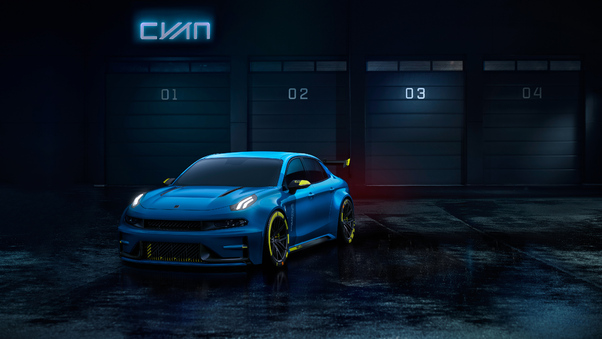 Full HD Lynk And Co 03 2018 Side View Wallpaper