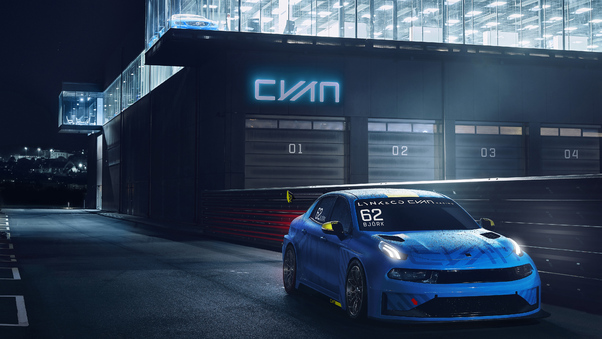 Full HD Lynk And Co 03 2018 Rear Wallpaper