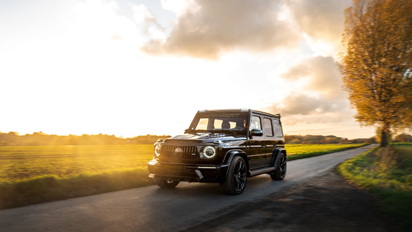 Full HD 2018 Mercedes Amg G 63 Front Wallpaper