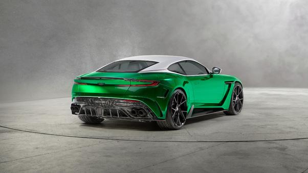Full HD Aston Martin Db11 Amr 2018 Rear Wallpaper
