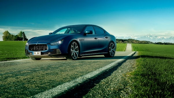 Full HD Maserati Ghibli S Q4 Gransport Nerissimo Pack 2021 Wallpaper