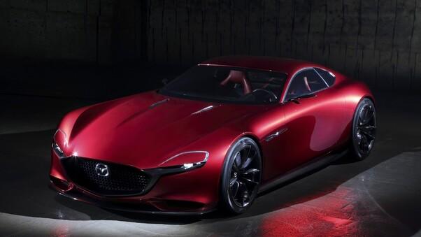 Full HD Red Mazda Wallpaper