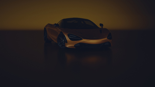Full HD Mclaren 720s Photography Wallpaper