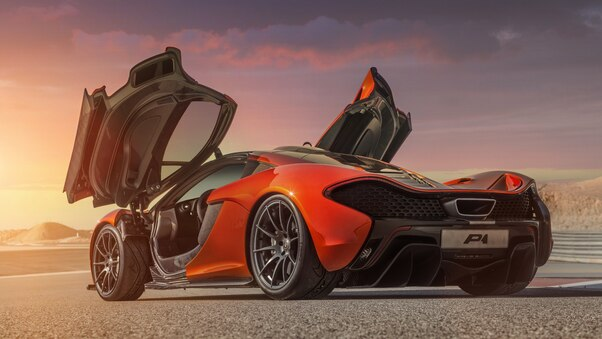 Full HD Mclaren P1 8k Wallpaper