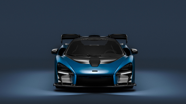 Full HD Mclaren Mso Senna 2018 Side View Wallpaper
