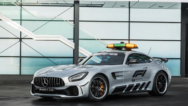 Full HD Mercedes Amg Gt R F1 Safety Car 2018 Wallpaper