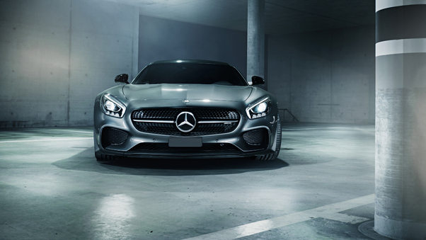 Full HD Mercedes Amg Gt S 2018 Front Wallpaper
