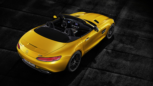 Full HD Mercedes Amg Gt S Roadster 2018 Front Wallpaper