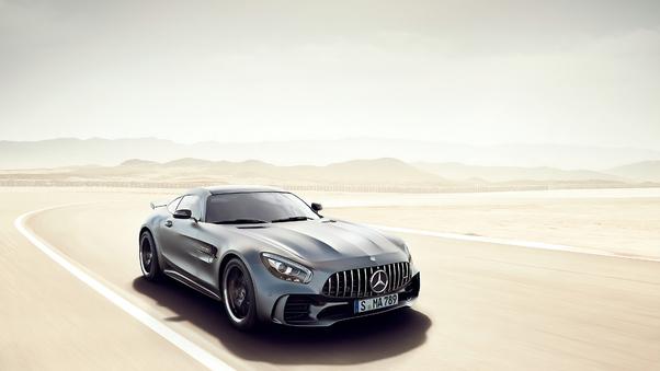 Full HD Green Mercedes Amg Gt R Front Wallpaper