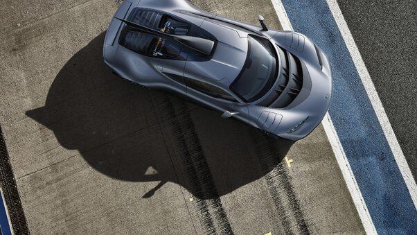 Full HD Mercedes Amg Project One Rear Wallpaper